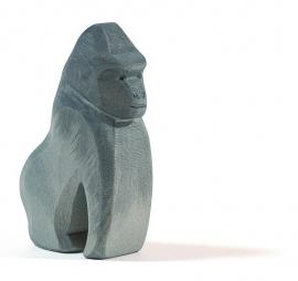 Gorilla zittend, Ostheimer