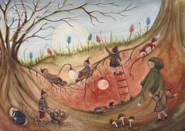 Root children, Bijdehansje