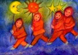 Zon, Maan en Sterren, Jula Scholzen-Gnad