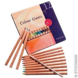 Kleurenreuzen 12 kleuren waldorfassortiment, Stockmar