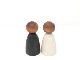 Volwassen Nins® donker hout, Grapat