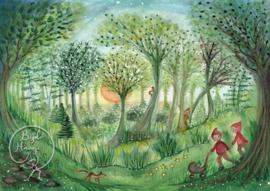 Forest, Bijdehansje