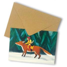 Postbode in het bos, Esther Bennink