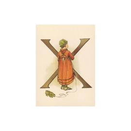 X letterkaart, Adelborg