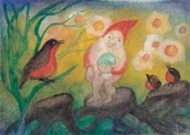Drie vogels en een dwerg, Jula Scholzen-Gnad