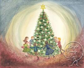 Christmas tree, Bijdehansje