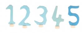 Waldorf Cijferset 1-5 Blauw, Grimm's