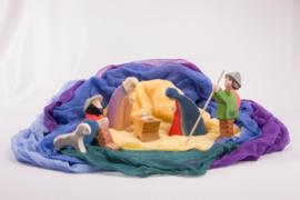 Decoratiedoekenset Kerstmis, Ostheimer