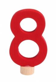 Cijfer: 8 steker Grimm's