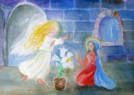 De verkondiging aan Maria, Dorothea Schmidt