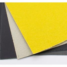 Schuurpapierset voor speksteen, Kunstwerk
