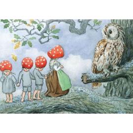 De Kabouterkinderen bij de uil, Elsa Beskow