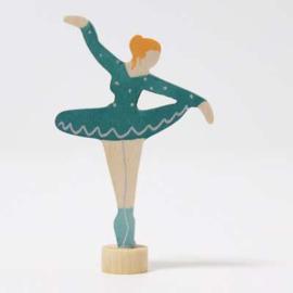 Ballerina Zeegroen steker, Grimm's