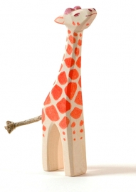 Giraffe kalf kop omhoog, Ostheimer