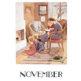 Maand November, Elsa Beskow