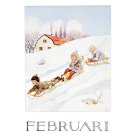 Maand Februari, Elsa Beskow
