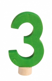 Cijfer: 3 steker Grimm's