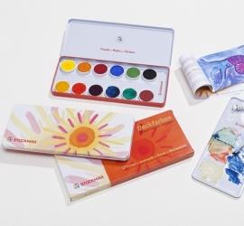 Plakaatverf 12 kleuren, Stockmar