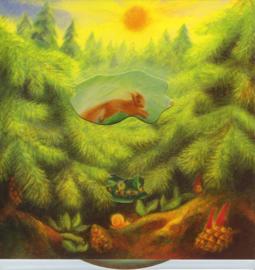 Draaiplaat Het bos, Gabriela de Carvalho