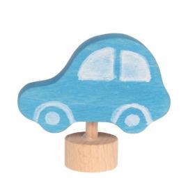 Blauwe Auto steker, Grimm's