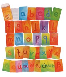 Kaarten alfabet A-Z kleine letters, Grimm's