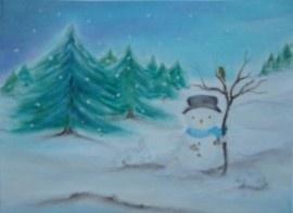 De sneeuwpop, Baukje Exler