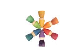 6 Kabouters Regenboog Nin ® Grapat