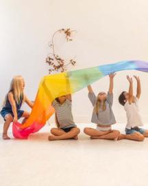 Reuze Speelzijde Regenboog, Sarah's Silks