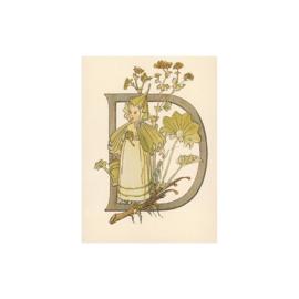 D letterkaart, Adelborg