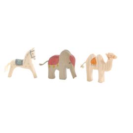 Paard, Olifant en Kameel mini, Ostheimer