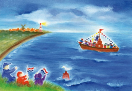 Intocht van Sinterklaas, Baukje Exler