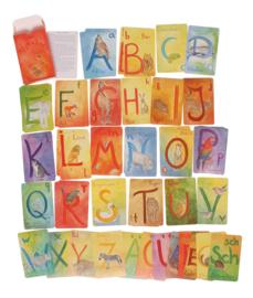 Kaarten alfabet A-Z duits, Grimm's