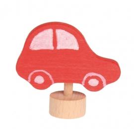 Rode Auto steker, Grimm's