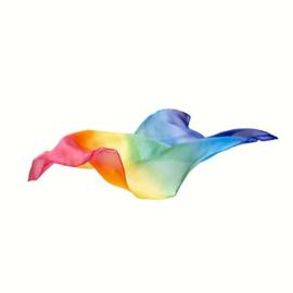 Mini Speelzijde Regenboog, Sarah's Silks