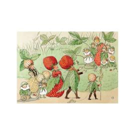 Aardbeienfamilie, Elsa Beskow