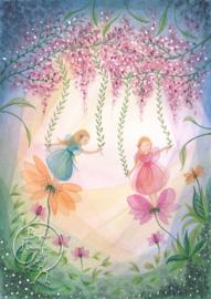 Fairies With Flowers, Bijdehansje