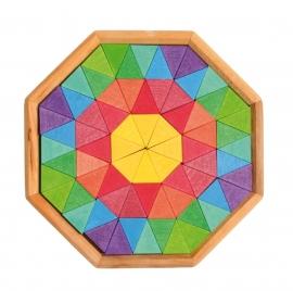 Creatieve mini bouwpuzzels Octagon, Grimm's
