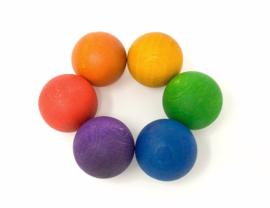 6 ballen Regenboog, Grapat