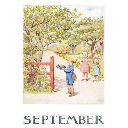 Maand September, Elsa Beskow