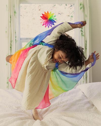 Zijden Vleugels Regenboog, Sarah's Silks