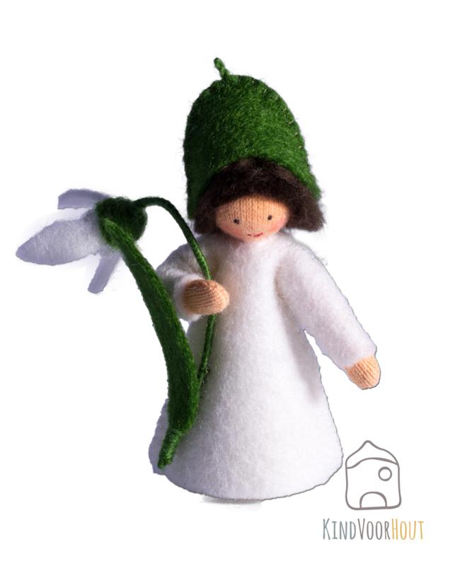 Sneeuwklokje Viltpop *3