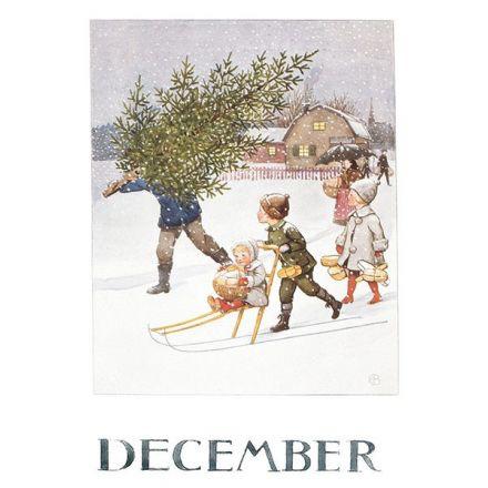 Maand December, Elsa Beskow