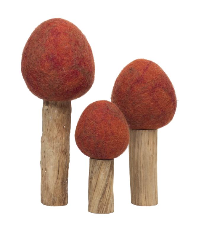 Drie Herfstbomen, Papoose