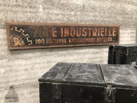 Authentiek industrieel bord 260 cm (144667)