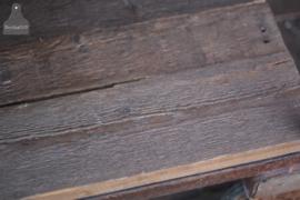 Authentieke industriële kast op wielen (136710)