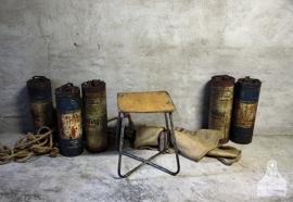 Industrieel schoolkrukje (132173)..verkocht