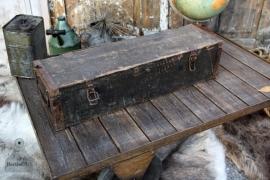 Houten geleefde kist (131451) verkocht