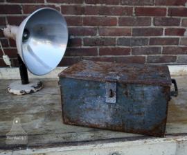 Industriele ijzeren kist (130803)..verkocht