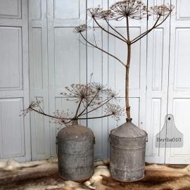 Oud zinken vat (131693) verkocht