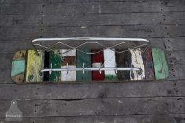 Sloophouten kapstok ( 131100)..verkocht
